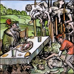 Смертные казни: Сажание на кол
